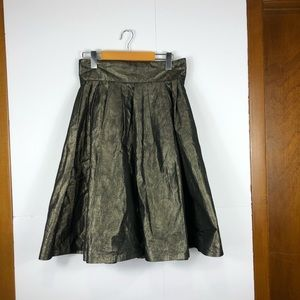 Alfred Sung gold sparkle skirt Sz 8